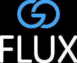 Logo von goFLUX der Mitfahrgelegenheit für alltägliche Fahrten