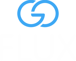Logo goFLUX; Mitfahrgelegenheit; Mobilitätskonzept; Pendler