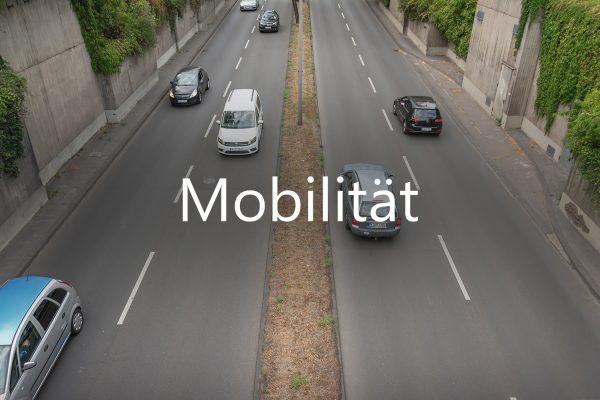 Titelbild der Rubrik Mobilität
