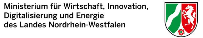 Logo Ministerium für Wirtschaft, Innovation, Digitalisierung und Energie des Landes NRW