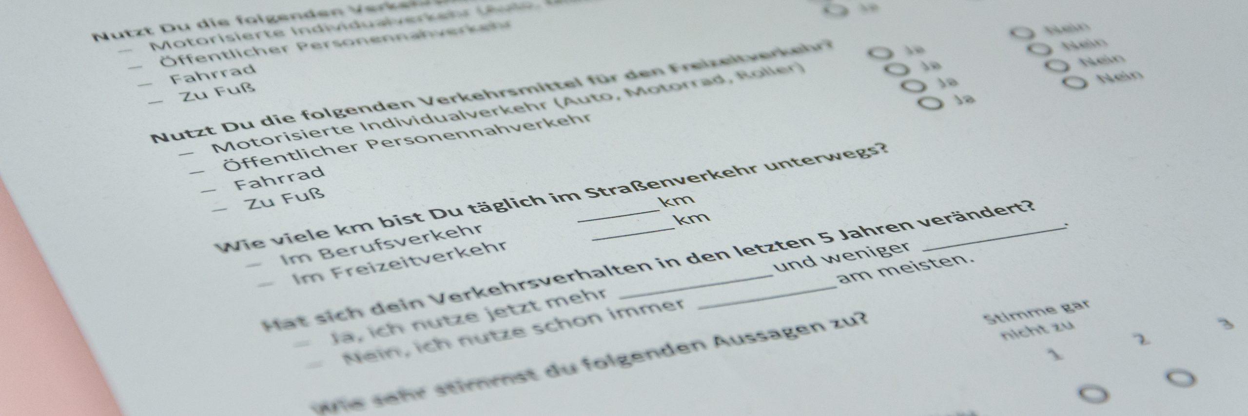 Umfrage; Mobilitätstypen; Mobilitätsalternativen in Deutschland; Mobilitätsalternativen; Deutschland