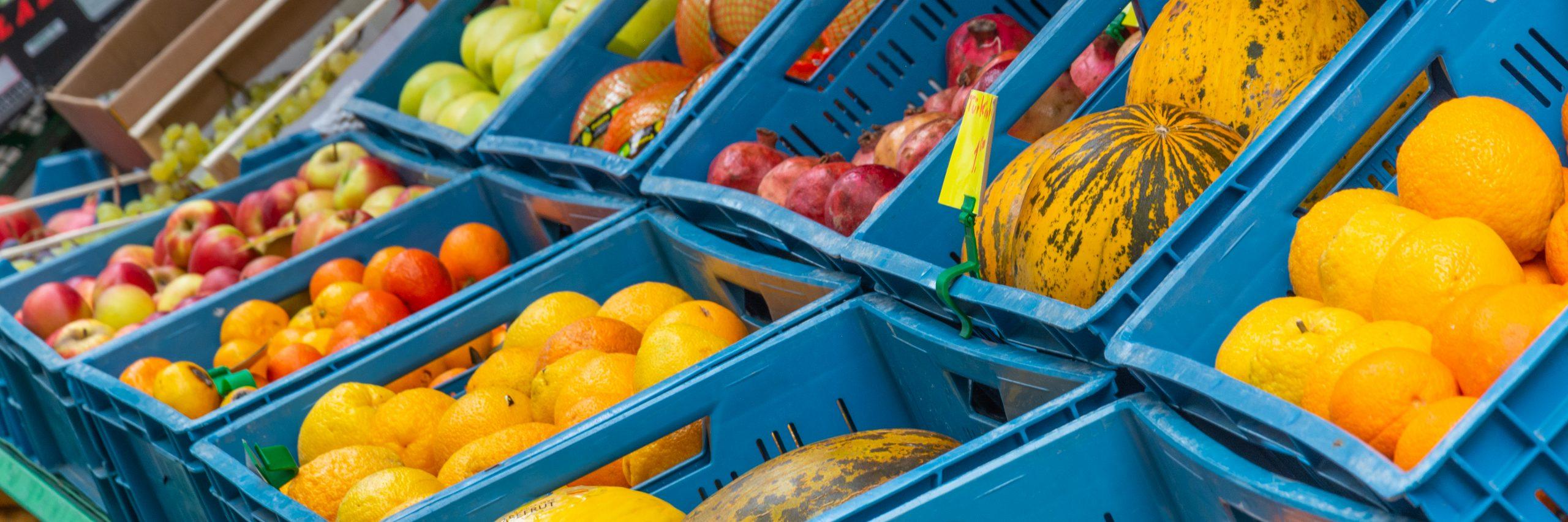 Früchte als Symbol für nachhaltiges Leben